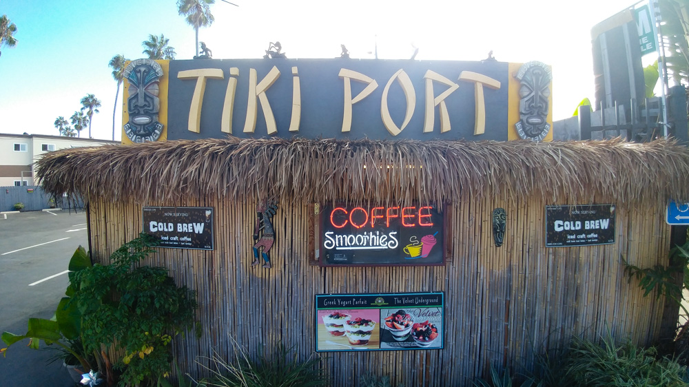 Tiki Port Coffee, Tea and Pastry's