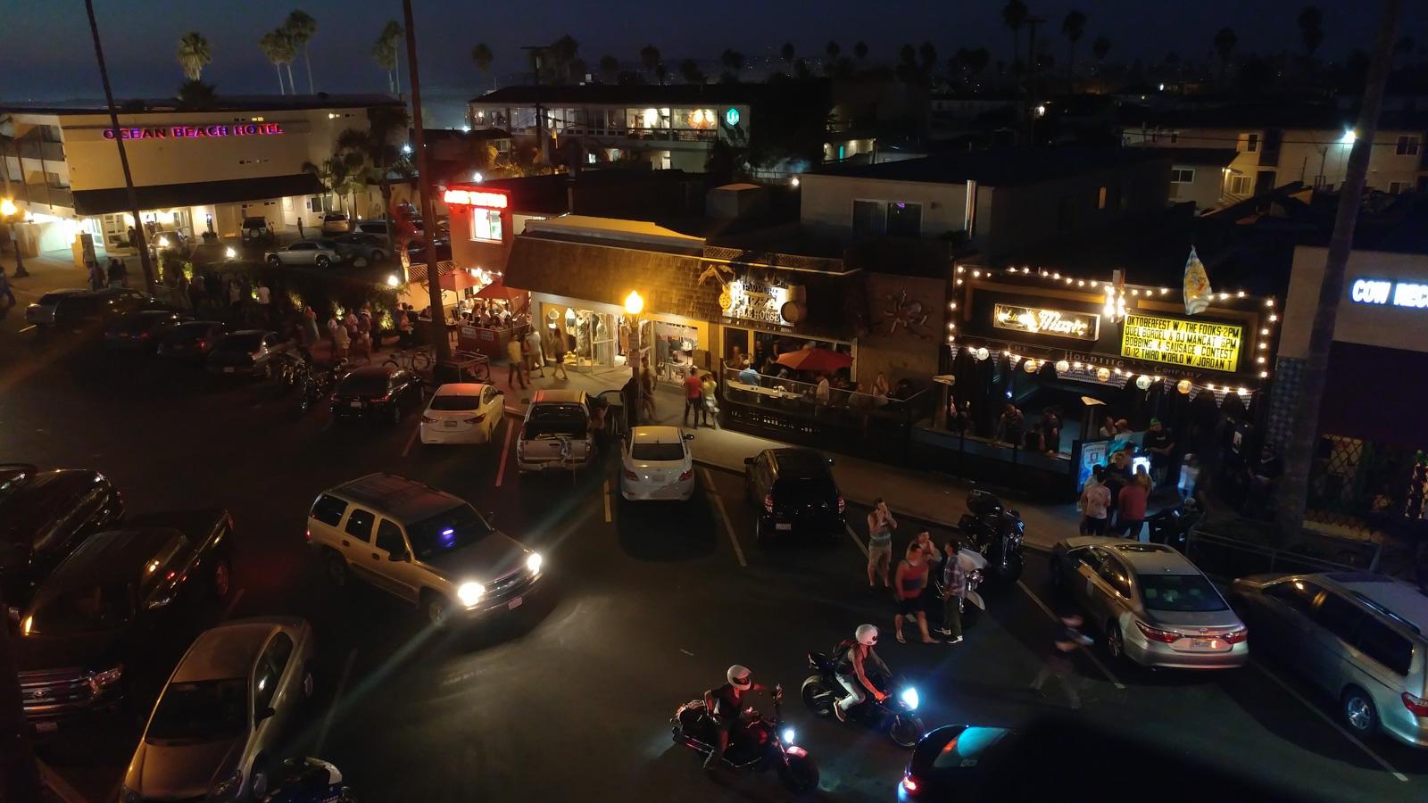 Ocean Beach Hotel Mexican Food Pizza THC San Diego Ocean Beach