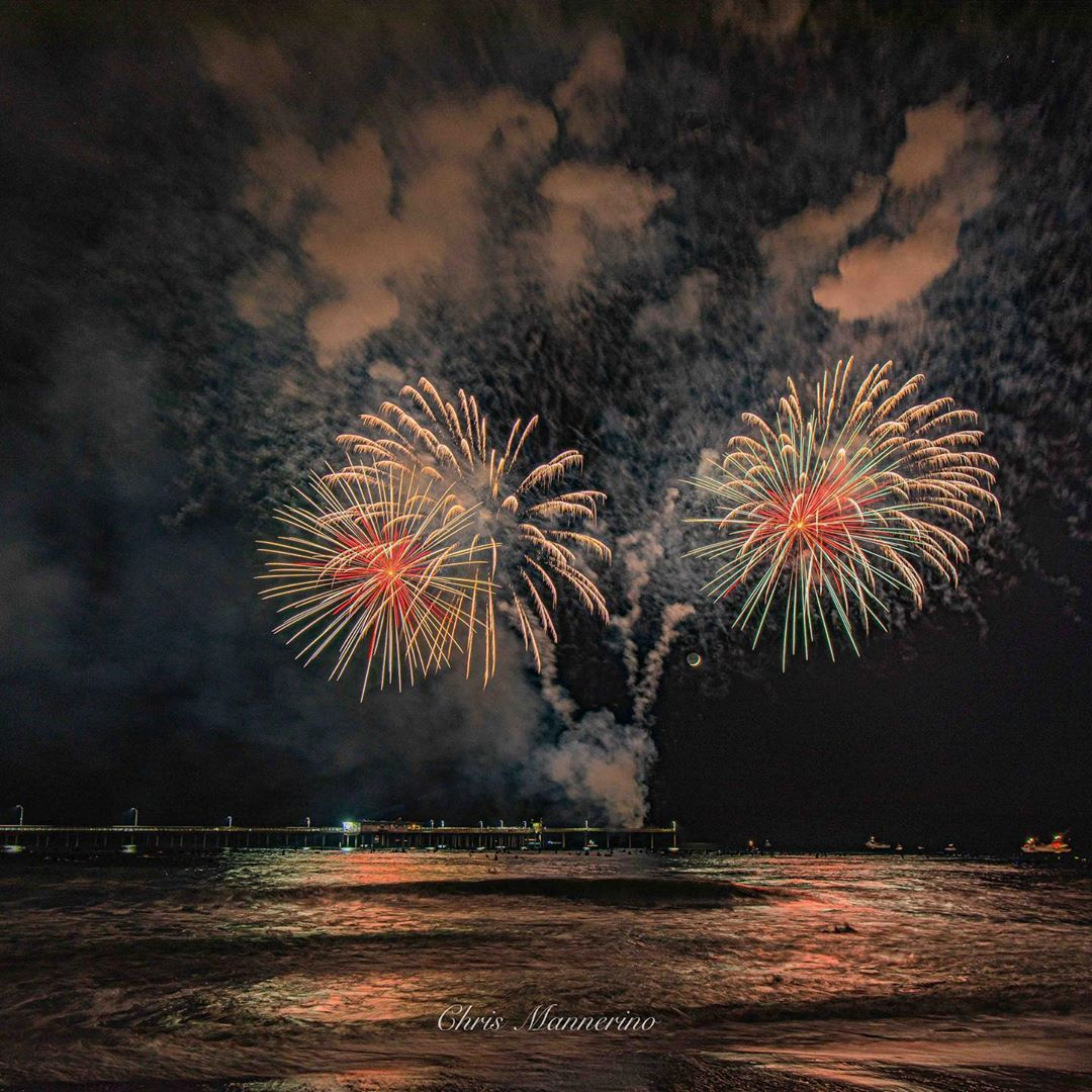Ocean Beach 4th of July Fireworks off OB Pier