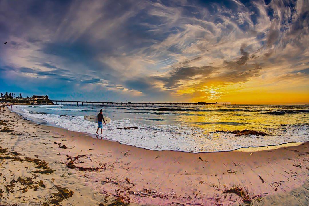 Ocean Beach Pier Sunset