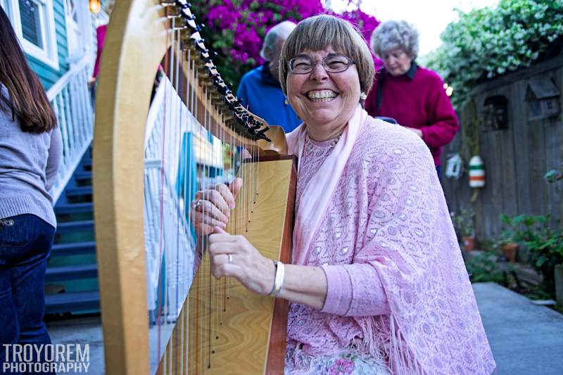 Ocean Beach Harp