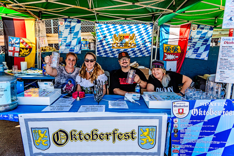 Oktoberfest Wounded Warrior in Ocean Beach San Diego
