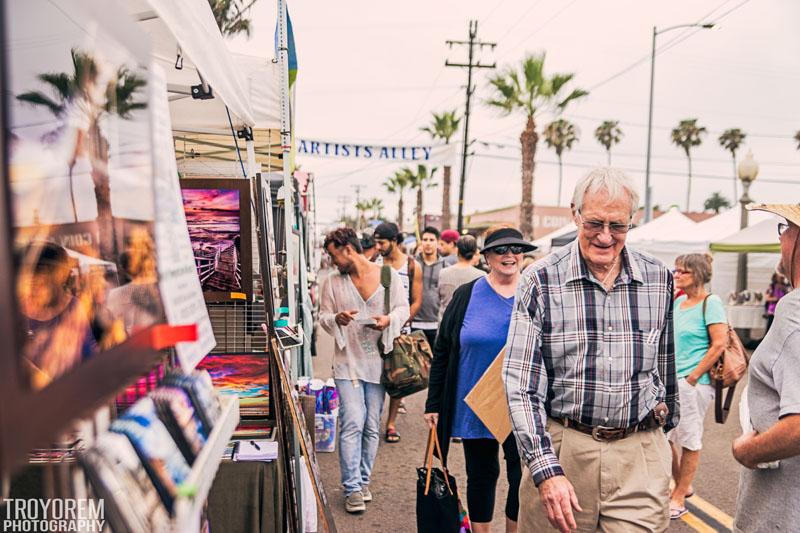 Ocean Beach San Diego Street Fair 2017