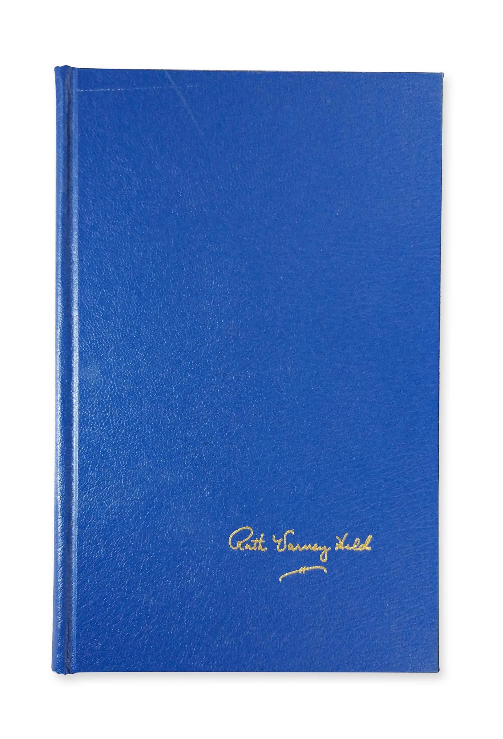Ocean Beach Product: Beach Town by Ruth Varney Held (dark blue edition)