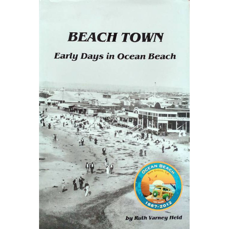 Ocean Beach Product: Beach Town by Ruth Varney Held