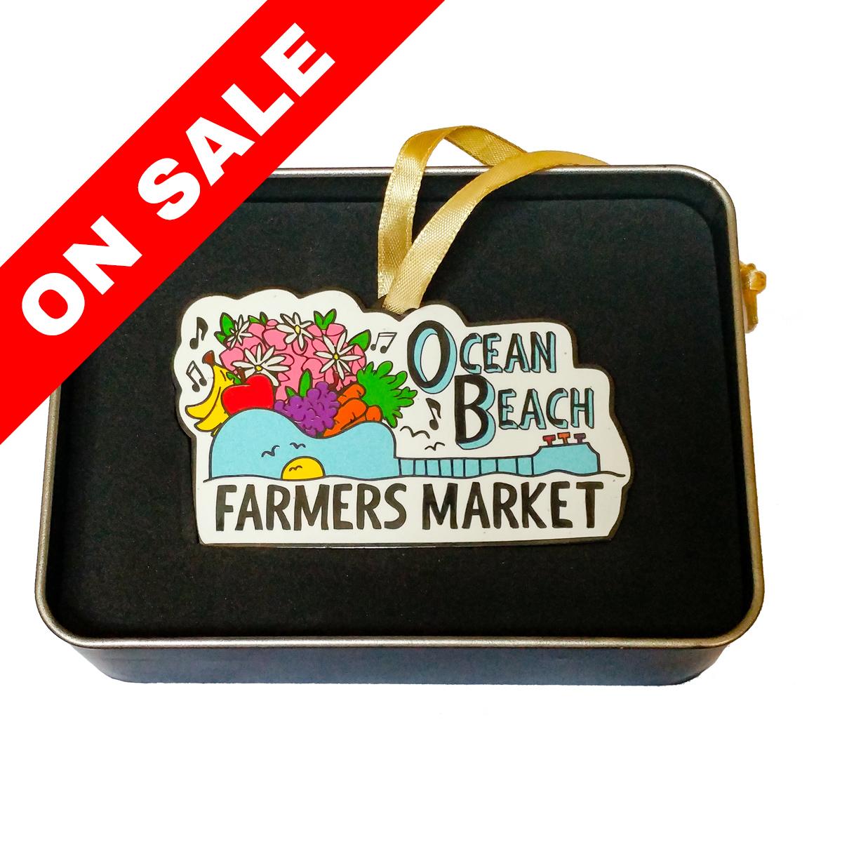 Ocean Beach Product: 2017 OB Holiday Ornament