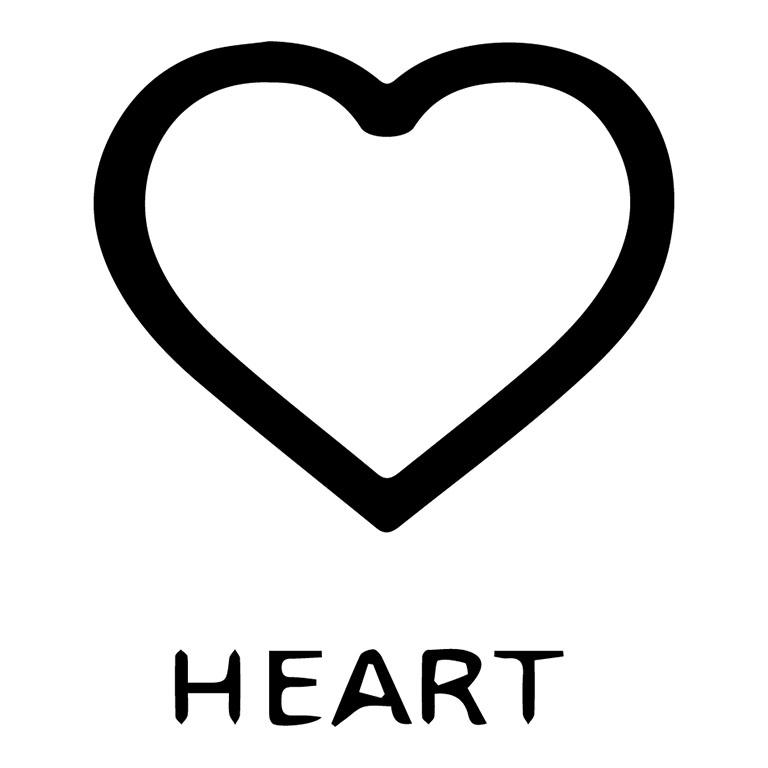 Ocean Beach Product: Tile Symbol: Heart