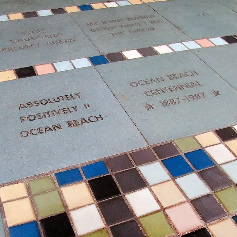 Ocean Beach Product: 6-inch Square Ceramic Tile