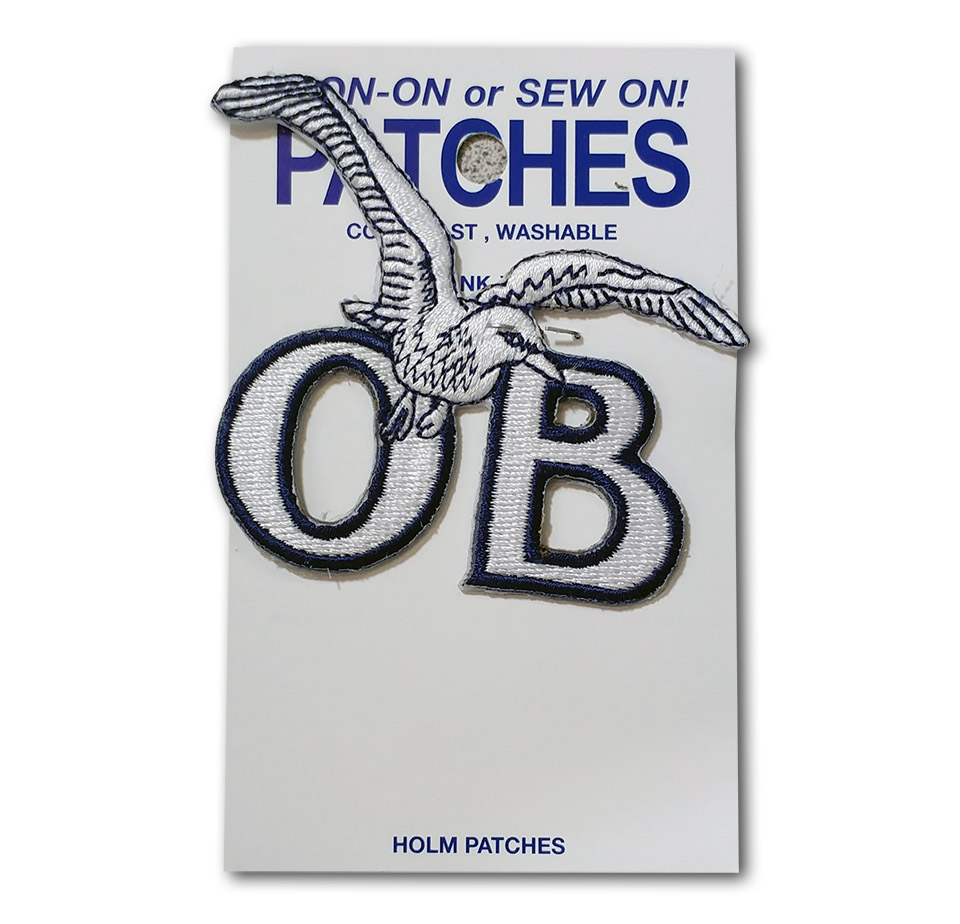 Ocean Beach Product: OB Seagull Patch