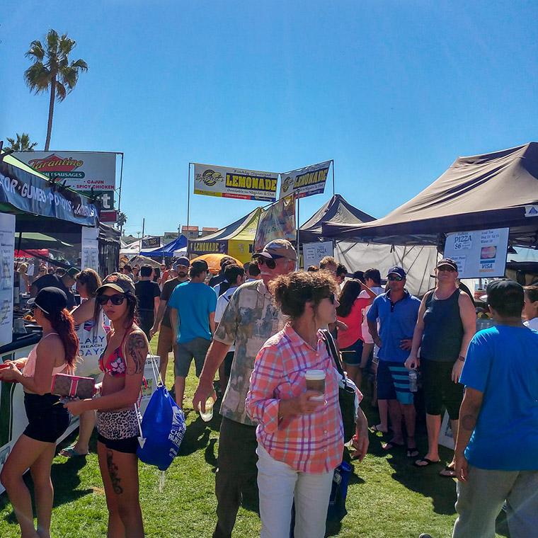 Ocean Beach Product: Oktoberfest Food Vendor Booth 10' x 15'