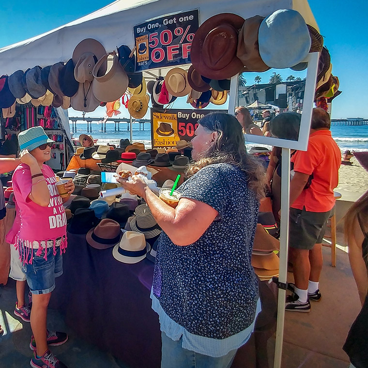 Ocean Beach Product: Oktoberfest Merchandise Booth 10' x 10'