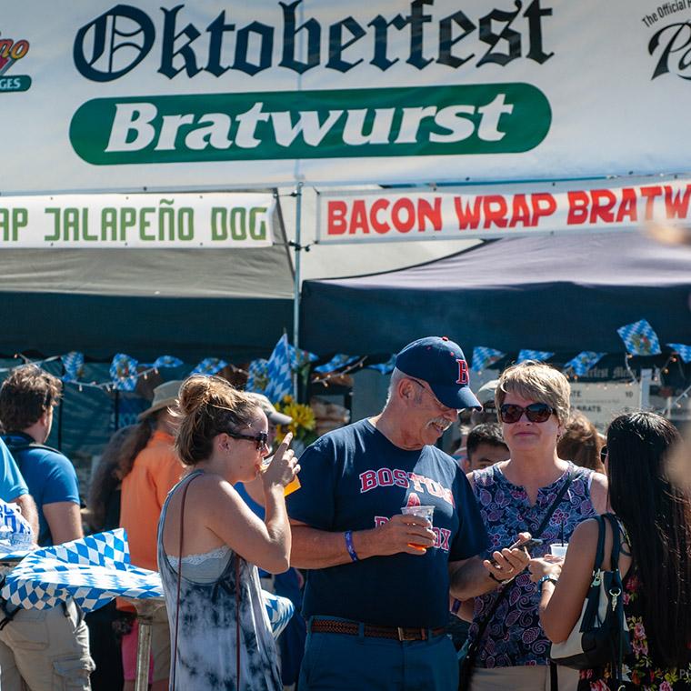 Ocean Beach Product: Oktoberfest Food Vendor Booth 10' x 10'