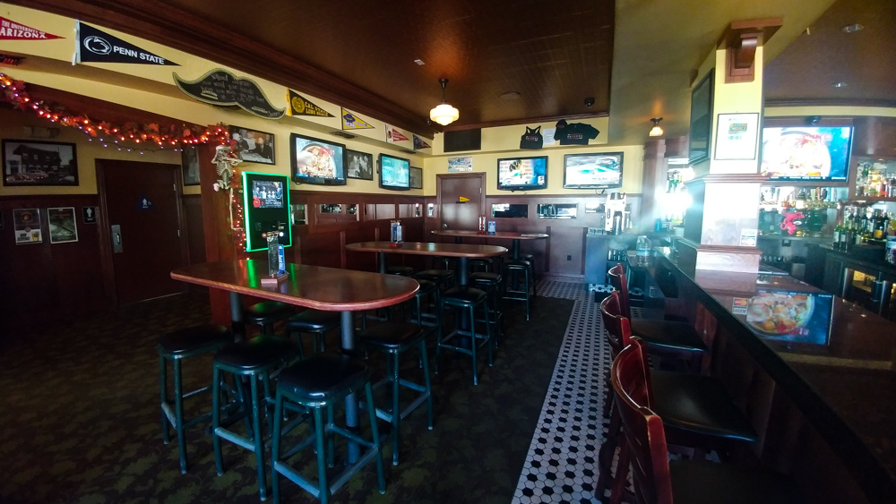 Arizona Cafe Bar and Televisions for watching Sports on TV