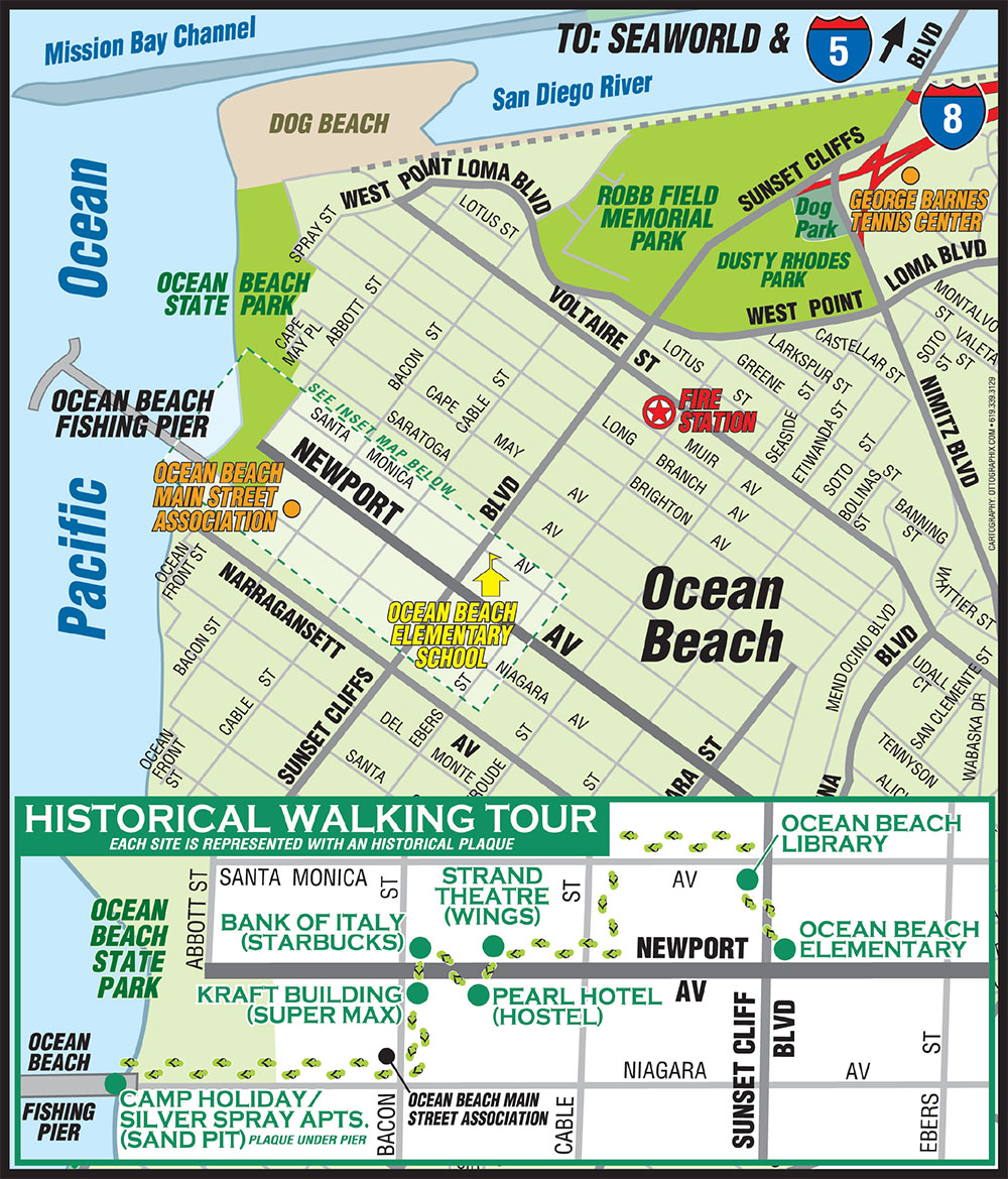 Self-guided Historic Walking Tour brochure