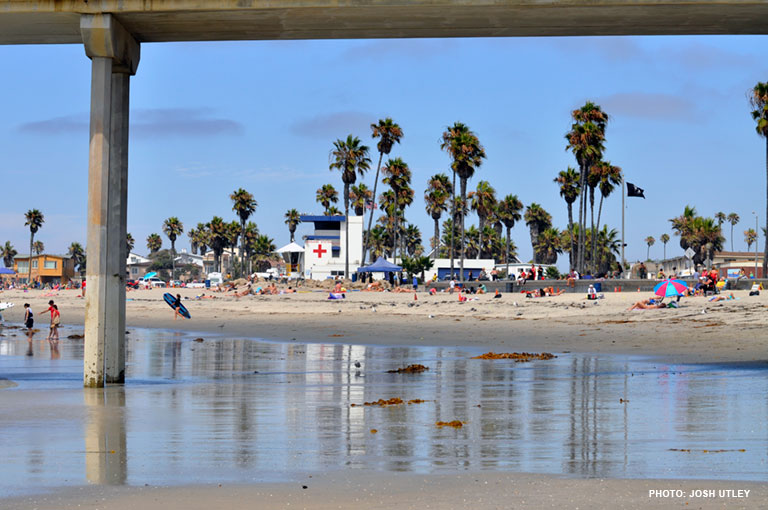 Newport Avenue Beach