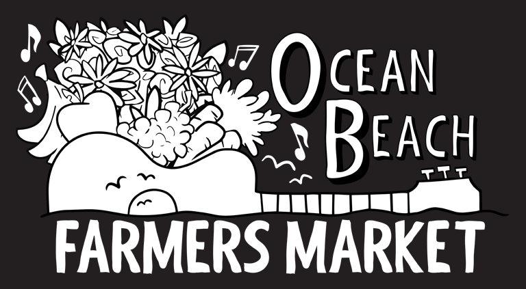Farmers Market Logo for 100% Black (K) Backgrounds