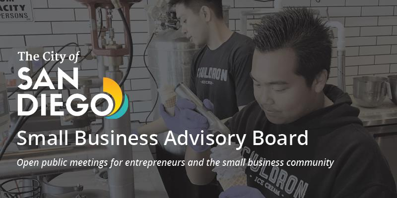 Small Business Advisory Board Meeting - Friday, Oct. 16th