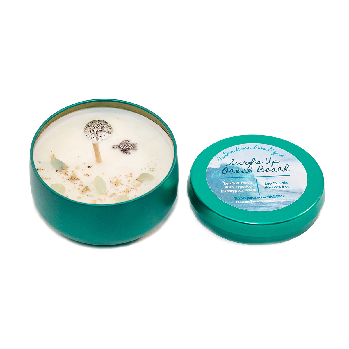 Surf's Up Ocean Beach Soy Candle