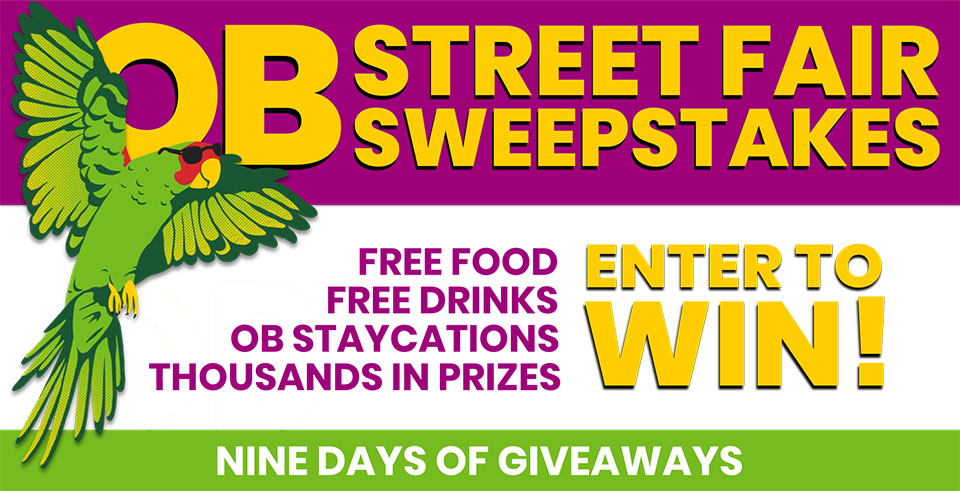 OB Street Fair Sweepstakes