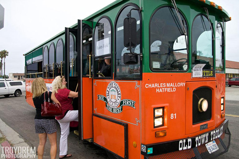 FREE Rides on the Trolley at the OB Street Fair