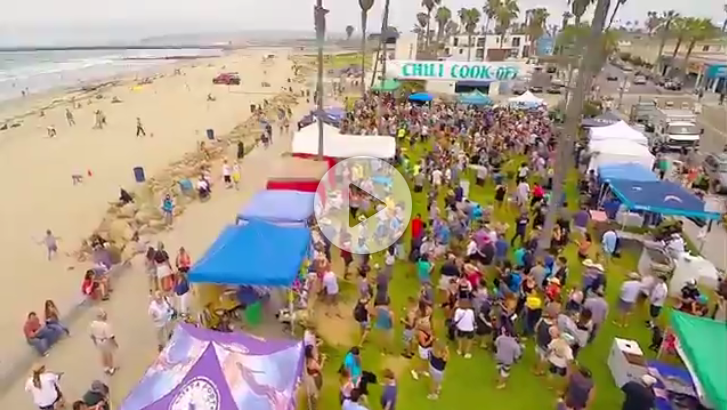 Videos of the Ocean Beach Street Fair & Chili Cook-Off