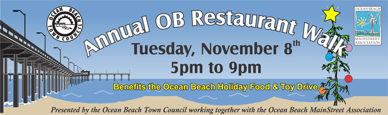 Annual OB Restaurant Walk