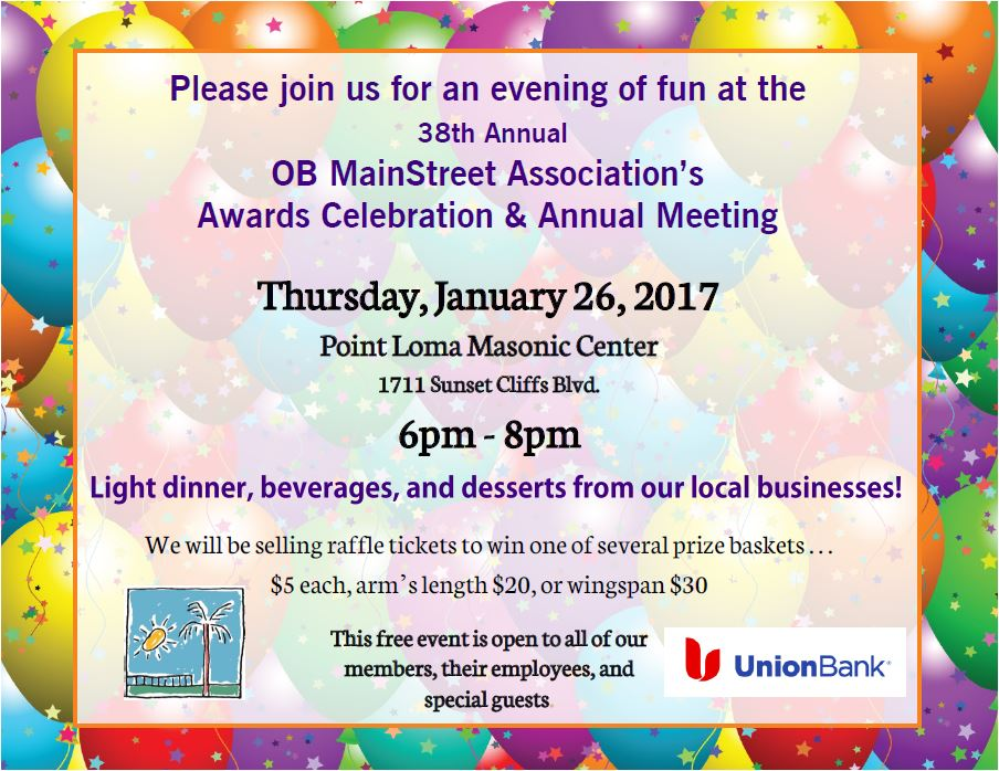 OBMA Member Event: Annual Meeting and Awards Celebration
