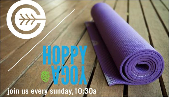 Hoppy Yoga at Culture Brewing Co