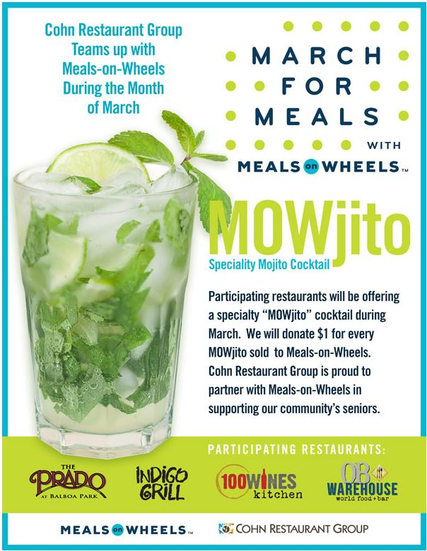 OB Warehouse joins March for Meals with MOWjitos