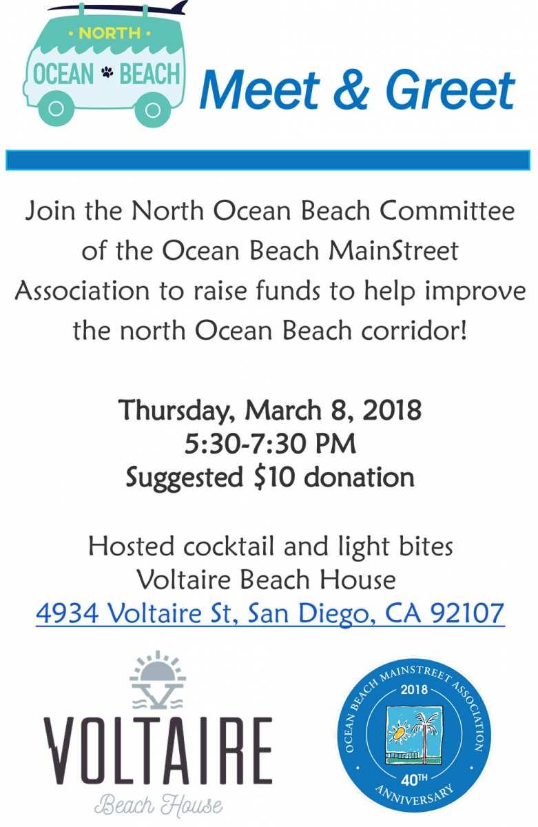 North Ob Meet Greetfundraiser At Voltaire Beach House Ocean