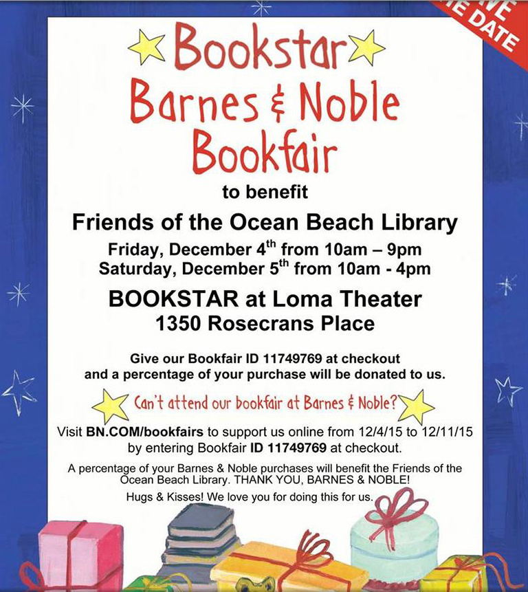 OB Friends of the Library Book Fair
