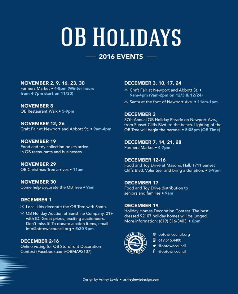 Ob Town Council Events Ocean Beach San Diego Ca