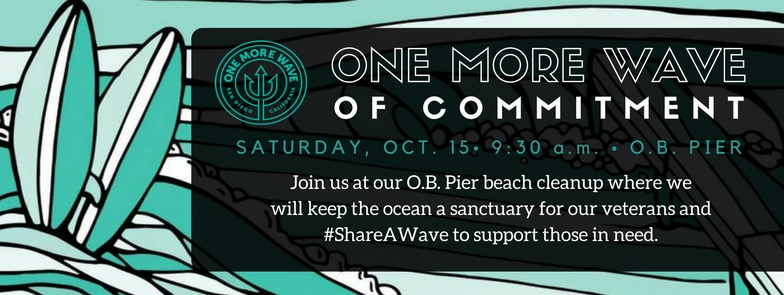 One More Wave Beach Cleanup