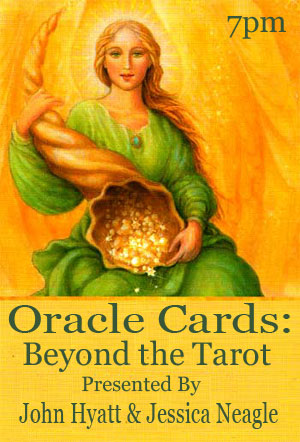Oracle Cards: Beyond the Tarot at Tree of Life