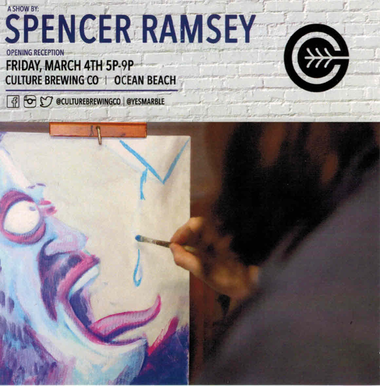 Spencer Ramsey Opening Reception at Culture Brewing Co