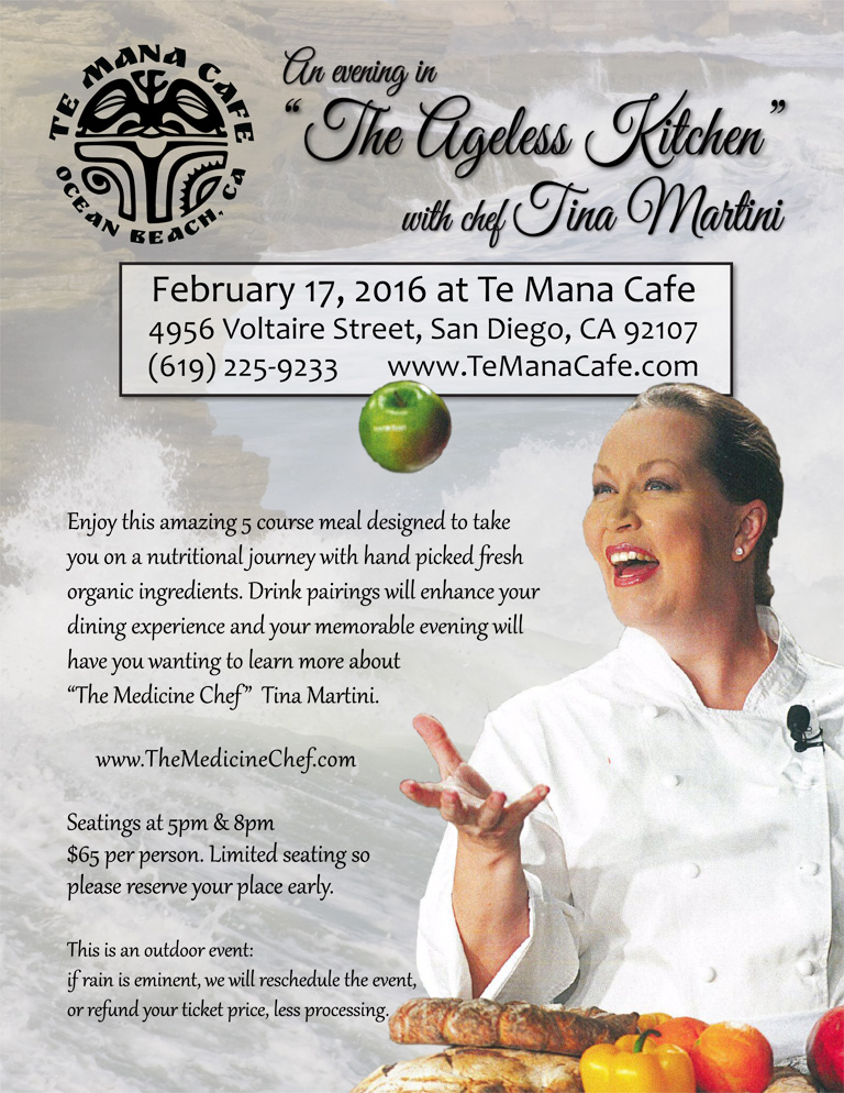 Chef Tina Martini at Te Mana Cafe