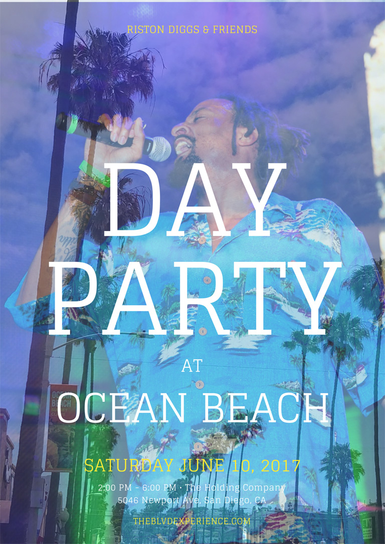 Come Catch A Vibe With Riston Diggs And Friends At Ocean Beach S Newest Live Music Venue The Holding Company 5046 Newport Ave