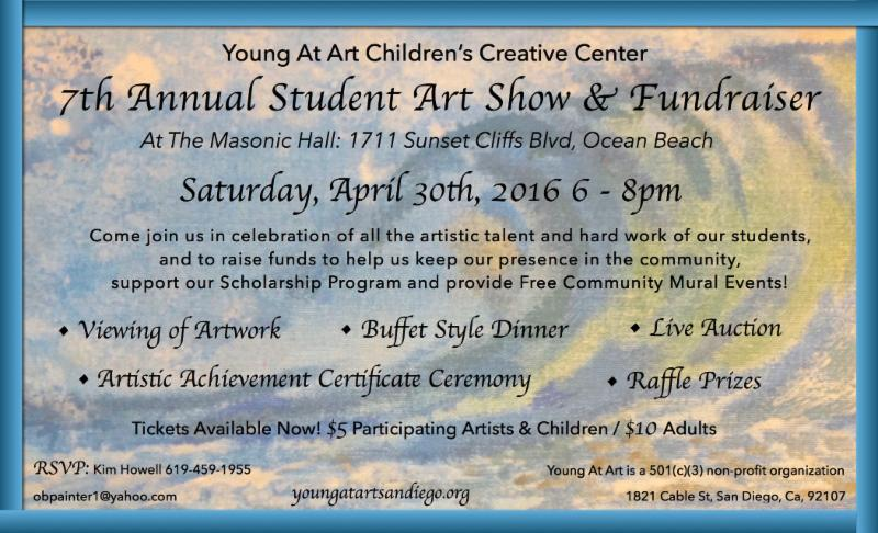 Young At Art 7th Annual Student Art Show & Fundraiser