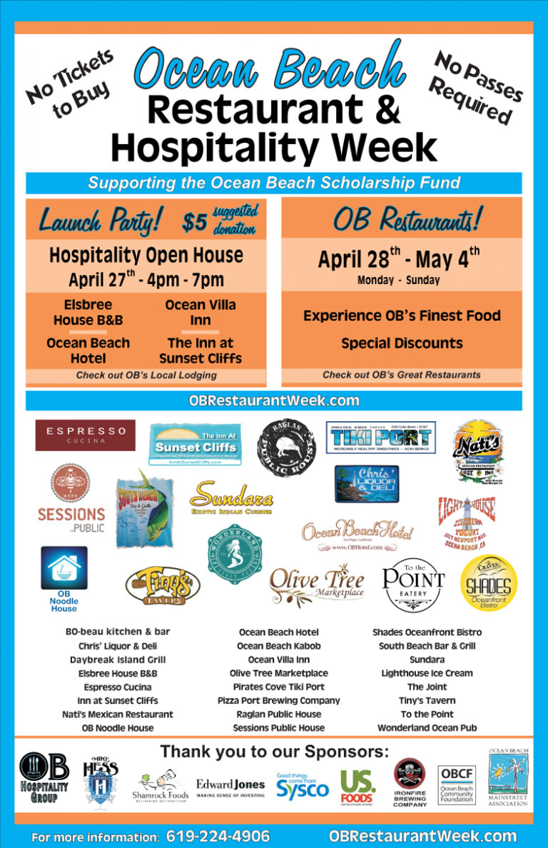 OB Restaurant and Hospitality Week