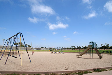Playground and Swings