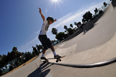 Backside 5-O Grind