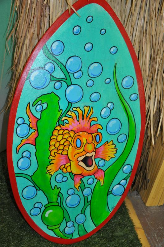 Ocean Beach Surf & Skate Natalie Thompson Art