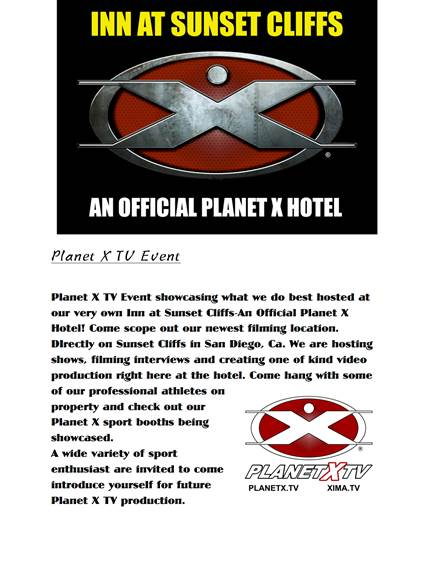 Planet X TV Inn at Sunset Cliffs Ocean Beach