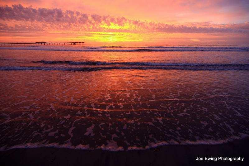 OB Pier Photo by Joe Ewing