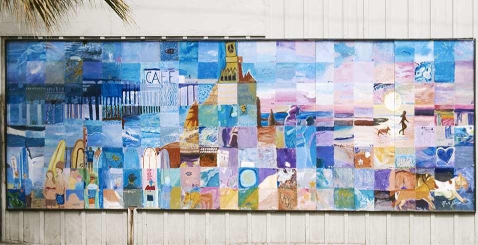 Ocean Beach comunnity mural project.