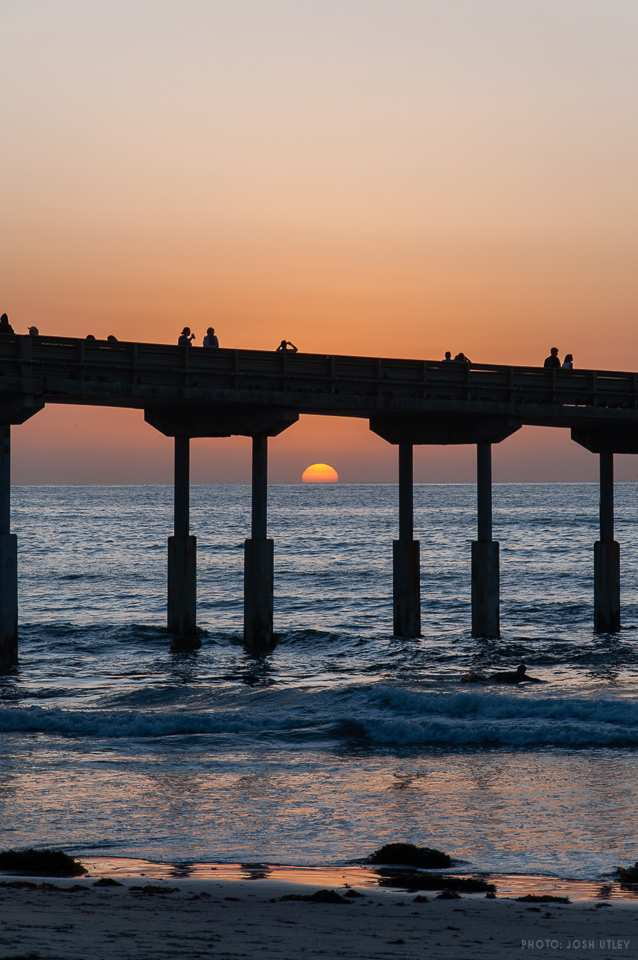 OB Oktoberfest 2019 Fishing Pier Sunset