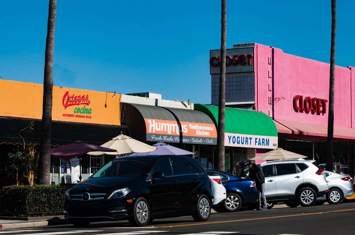 Newport Avenue Ocean Beach San Diego 92107