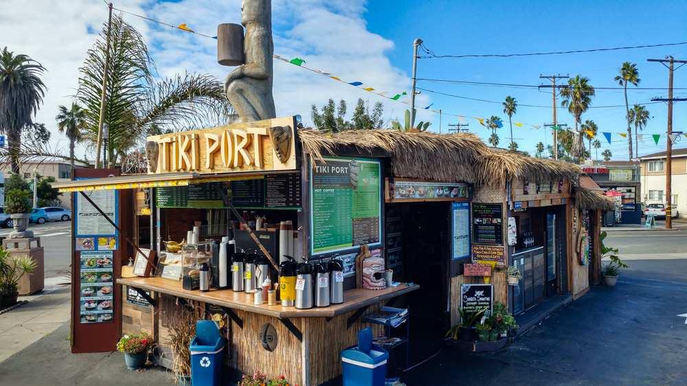 Tiki Port Coffee, Tea and Pastry's