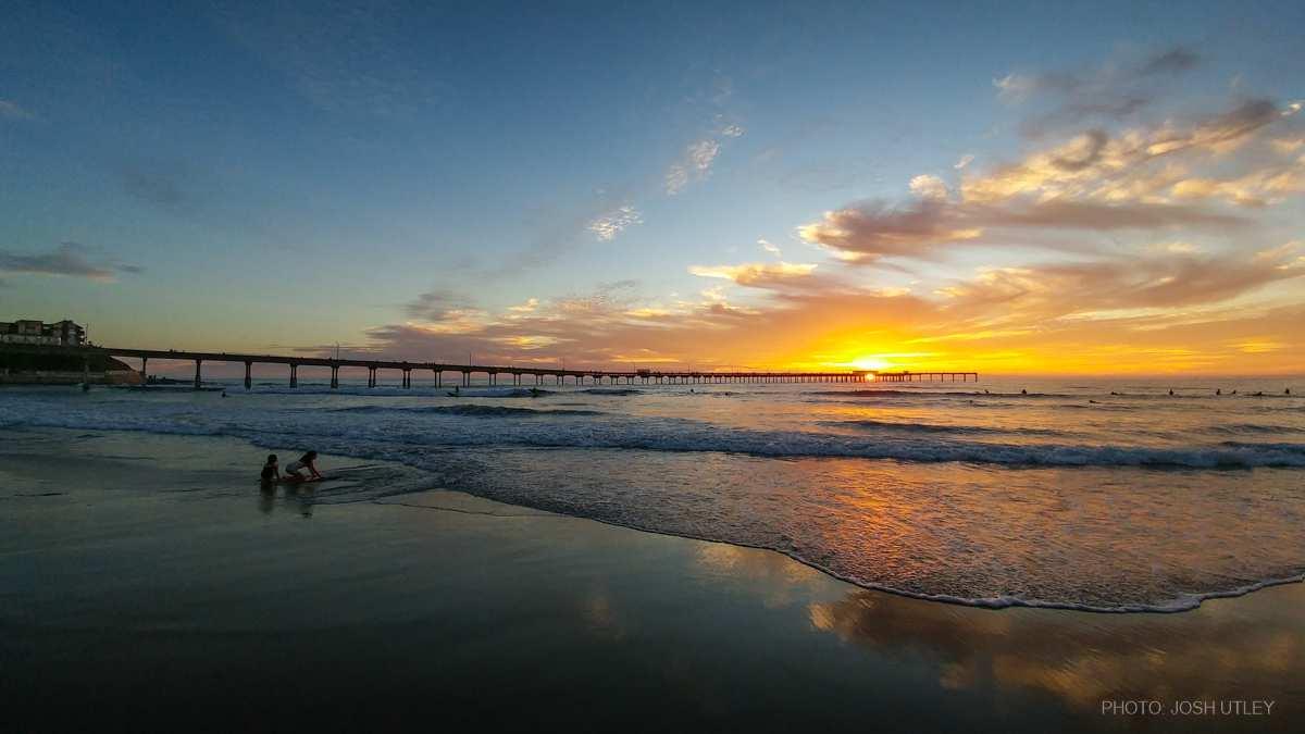 Photo of: Ocean Beach Pier Summer Sunset
