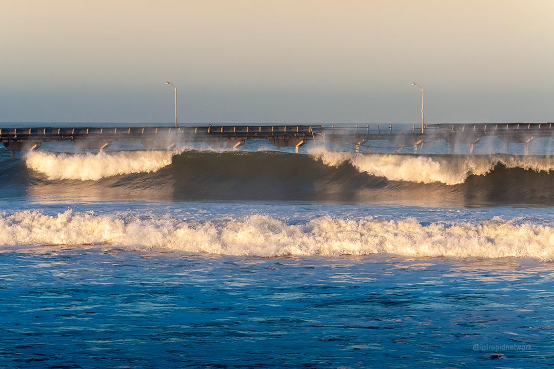Ocean Beach Pier Damage